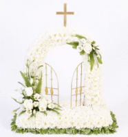 Mum or Dad Family Funeral Flower Religious Package 2